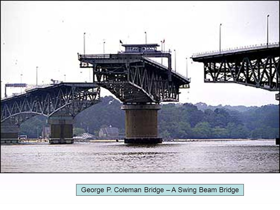 George P. Coleman Bridge – A Swing Beam Bridge