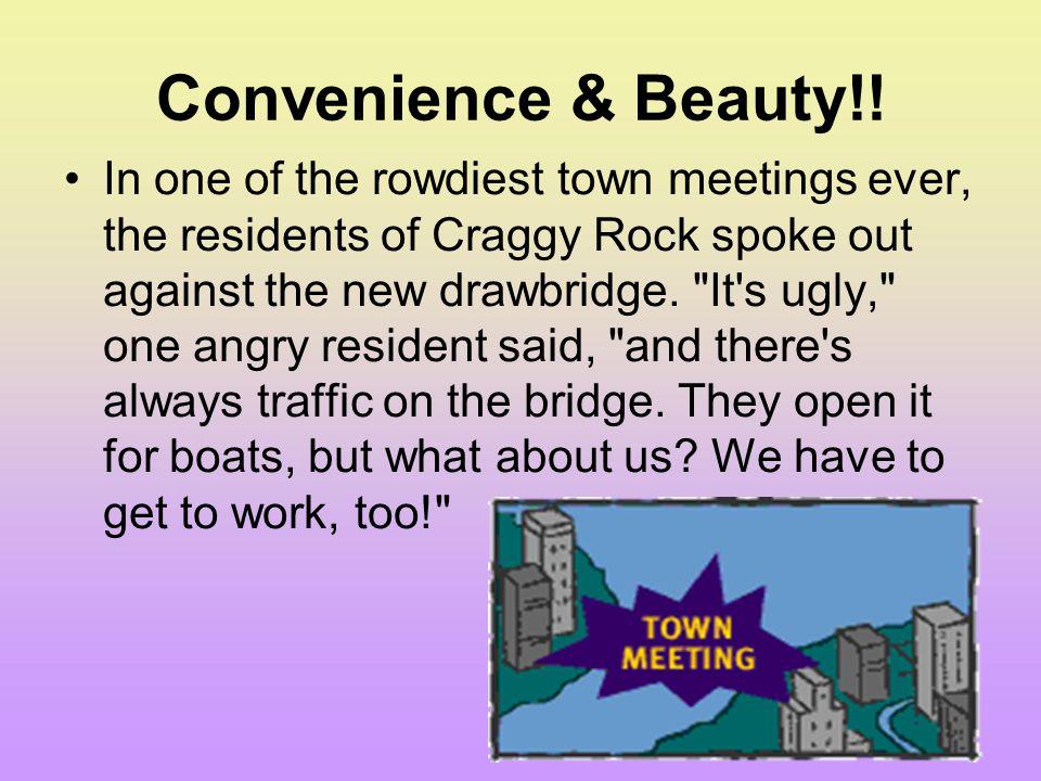 Convenience & Beauty!!