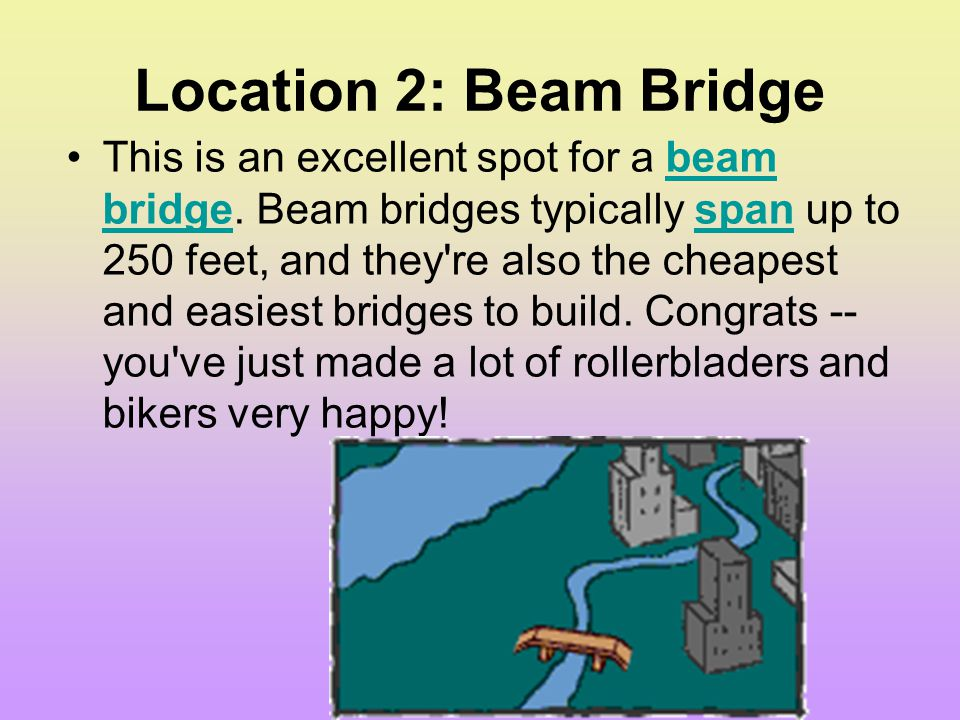 Location 2: Beam Bridge