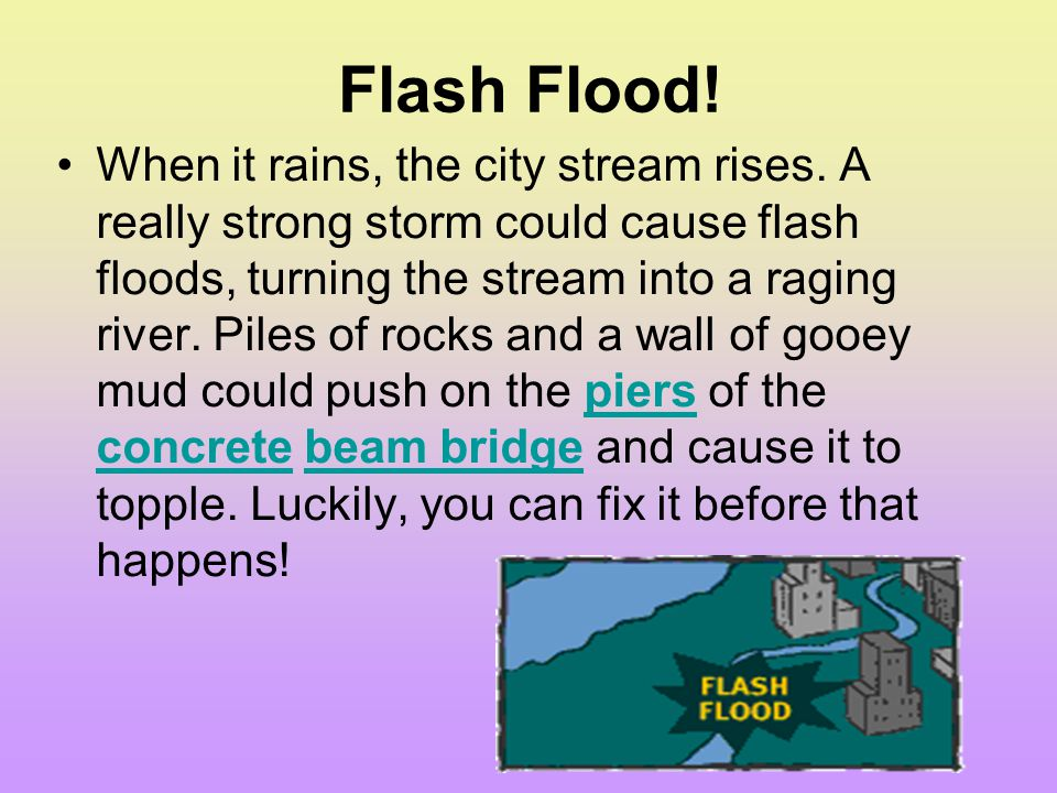Flash Flood!