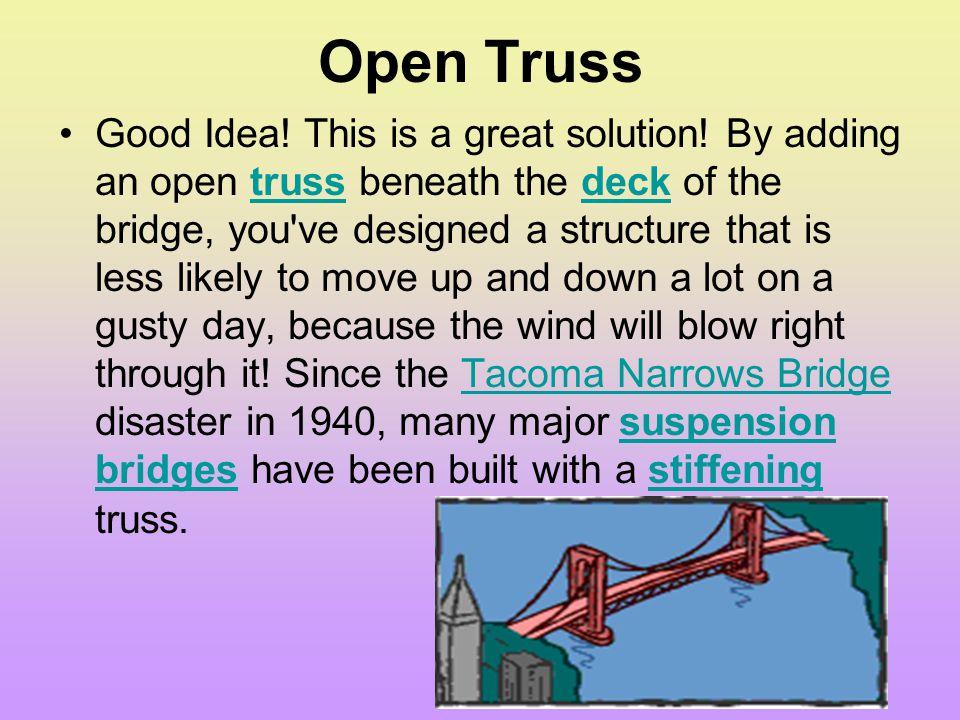 Open Truss