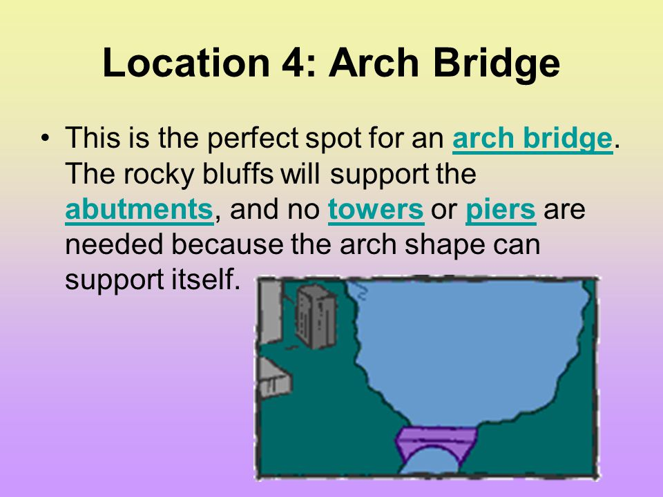 Location 4: Arch Bridge