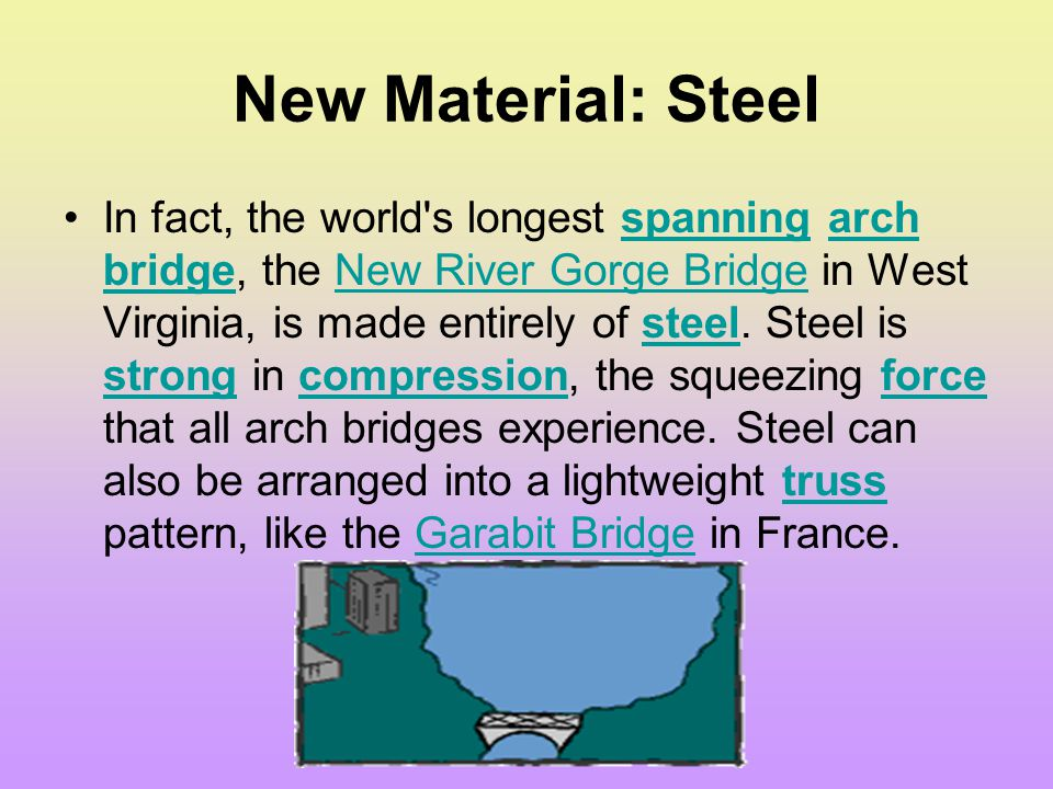 New Material: Steel