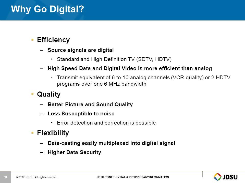 Why Go Digital Efficiency Quality Flexibility