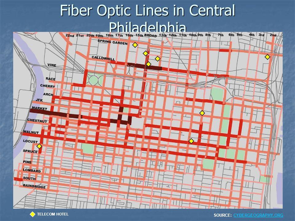 Fiber Optic Lines in Central Philadelphia