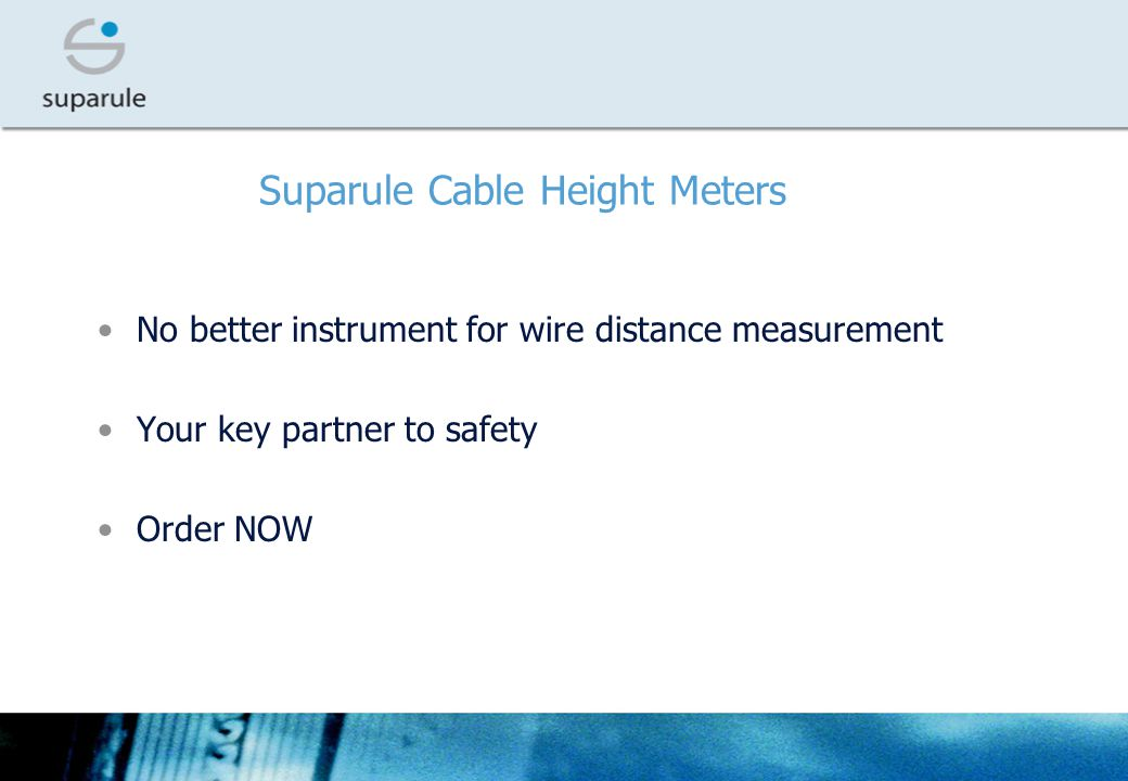Suparule Cable Height Meters