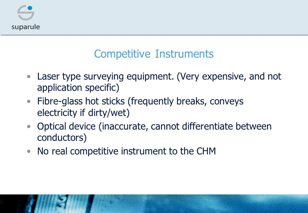 Competitive Instruments