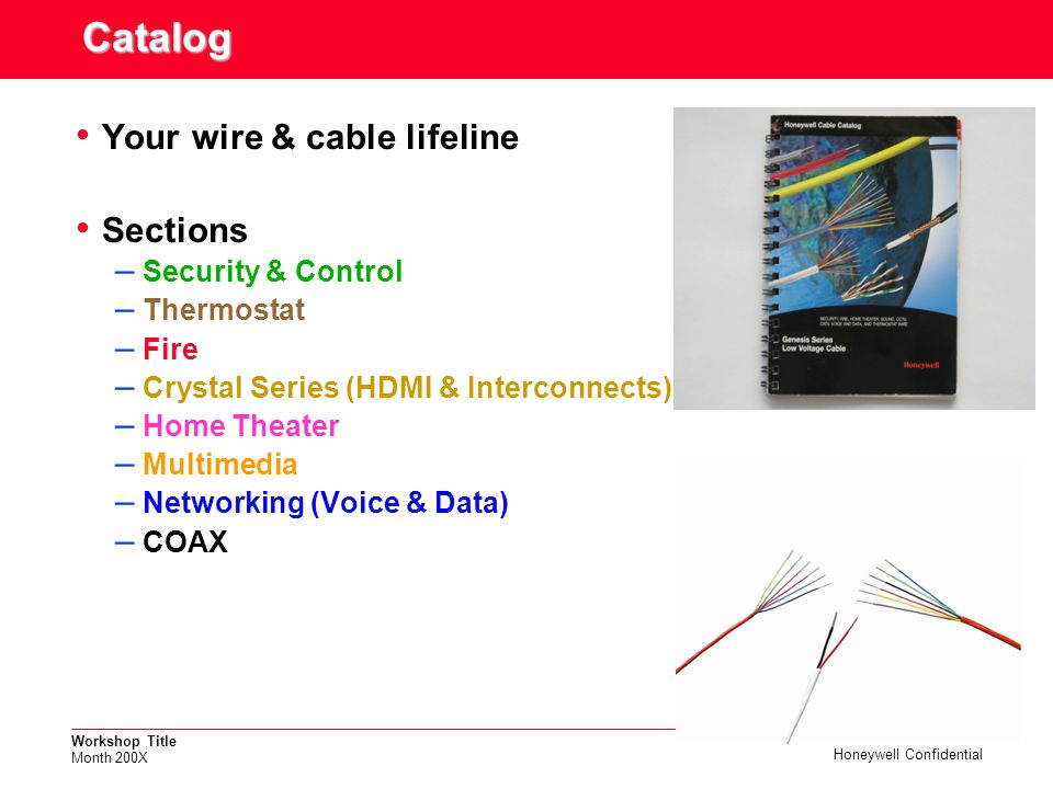Catalog Your wire & cable lifeline Sections Security & Control