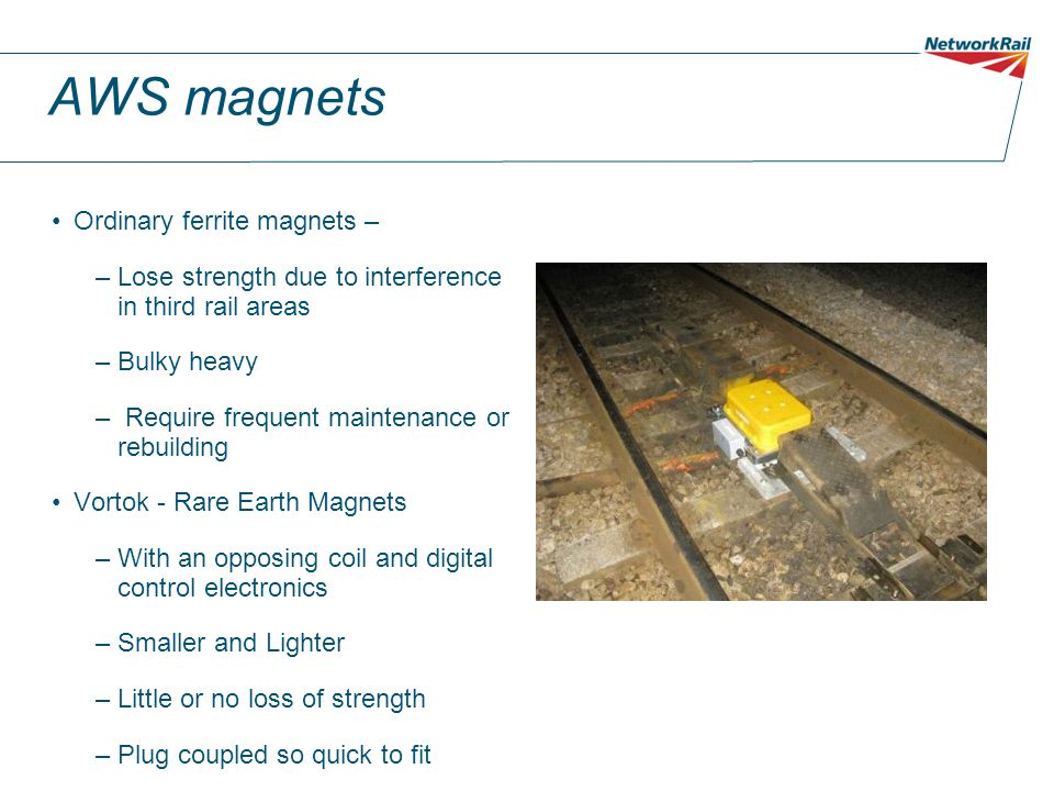 AWS magnets Ordinary ferrite magnets –