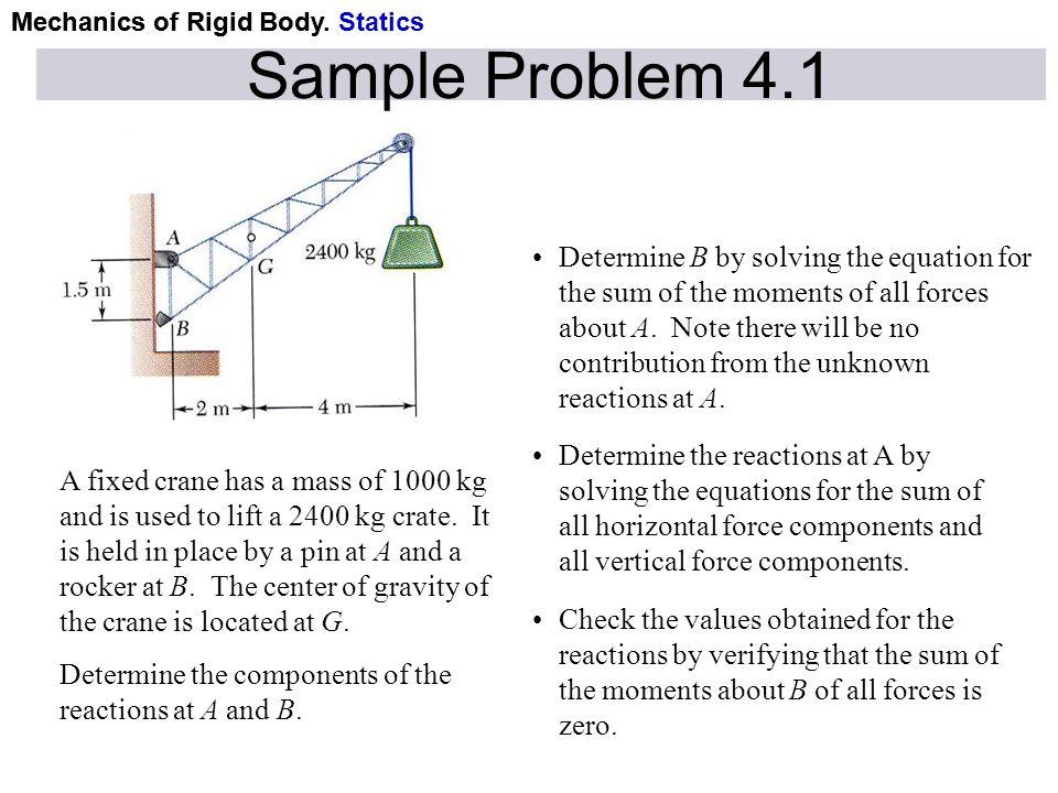 Mechanics of Rigid Body