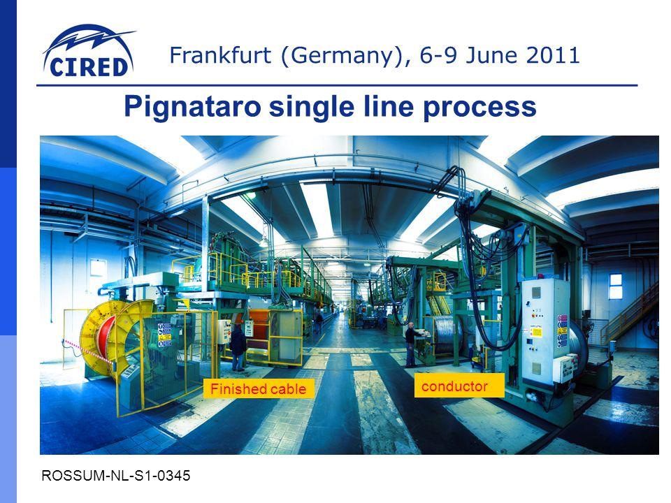 Pignataro single line process