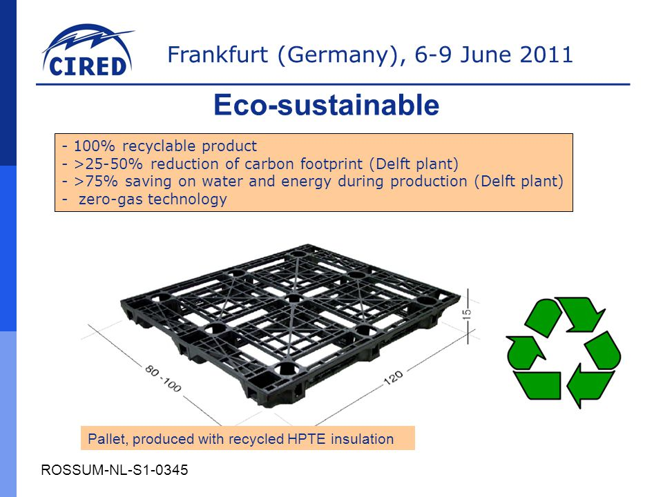 Eco-sustainable 100% recyclable product