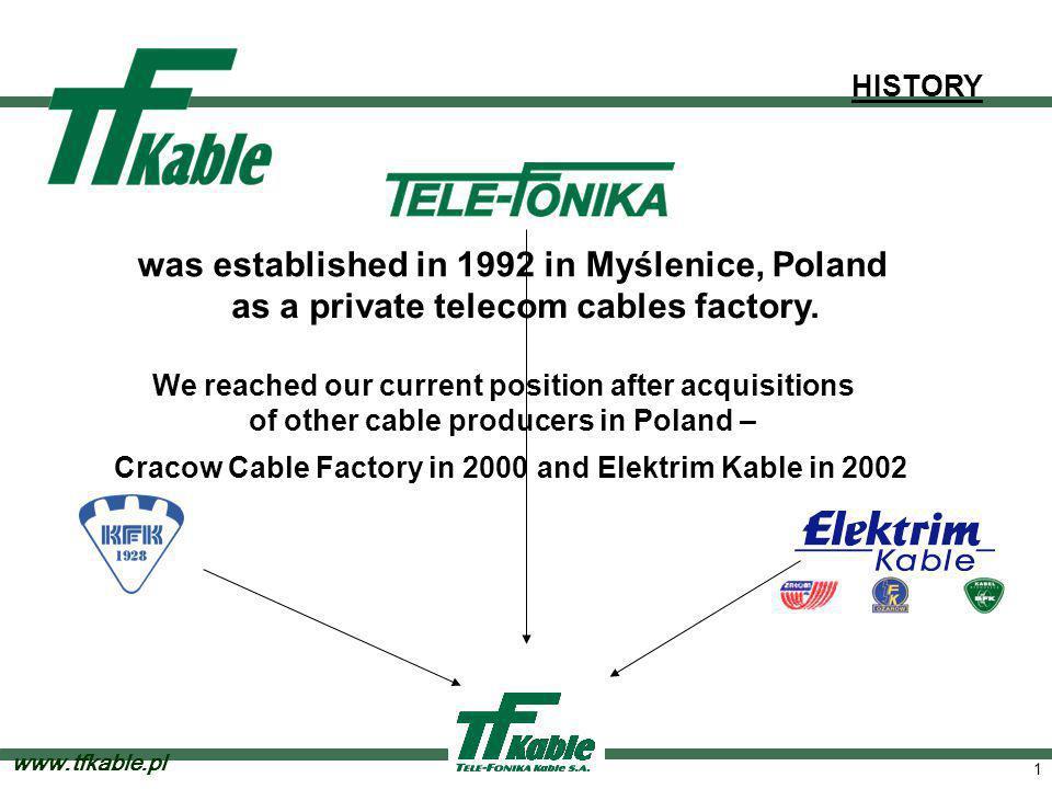 Tele-Fonika S.A. Key figures