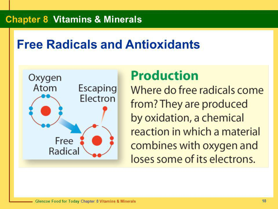 Free Radicals and Antioxidants