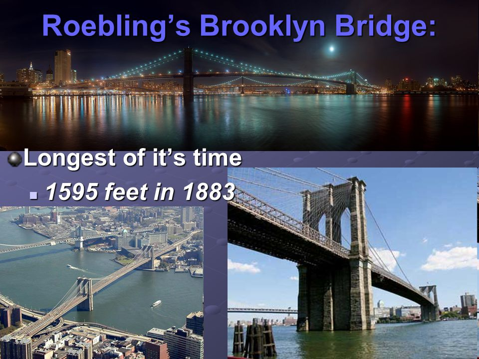 Roebling's Brooklyn Bridge: