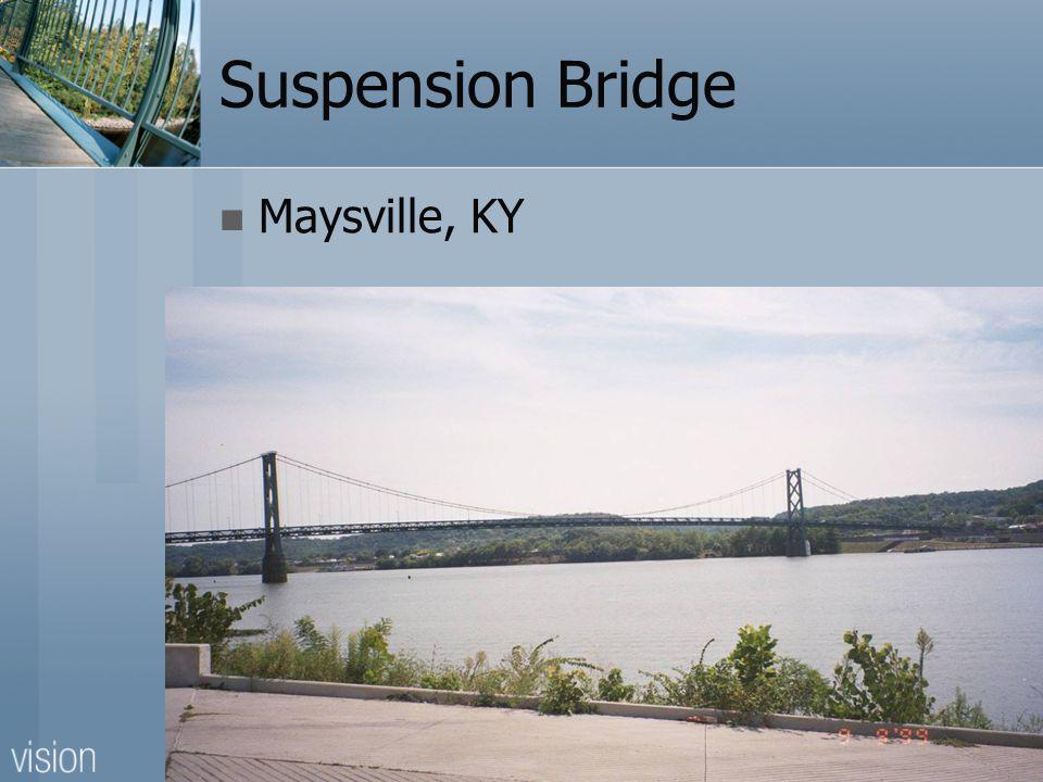 Suspension Bridge Maysville, KY