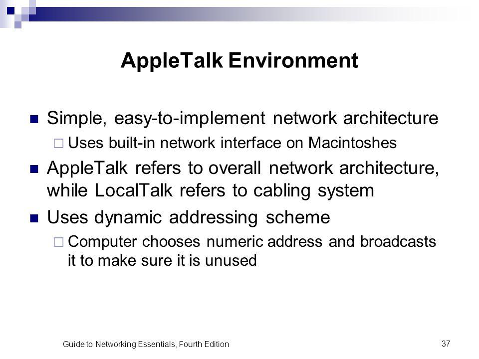 AppleTalk Environment