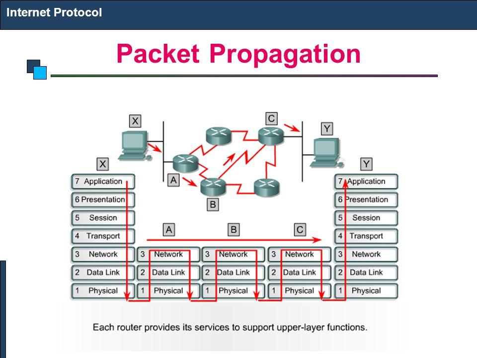 Internet Protocol Packet Propagation