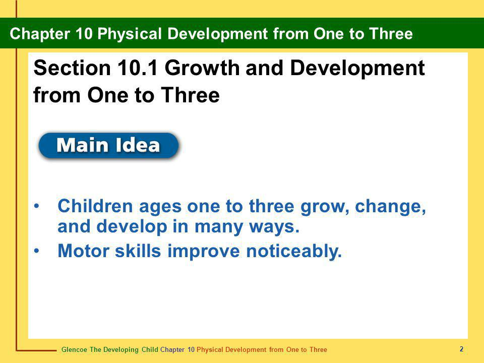 Section 10.1 Growth and Development from One to Three