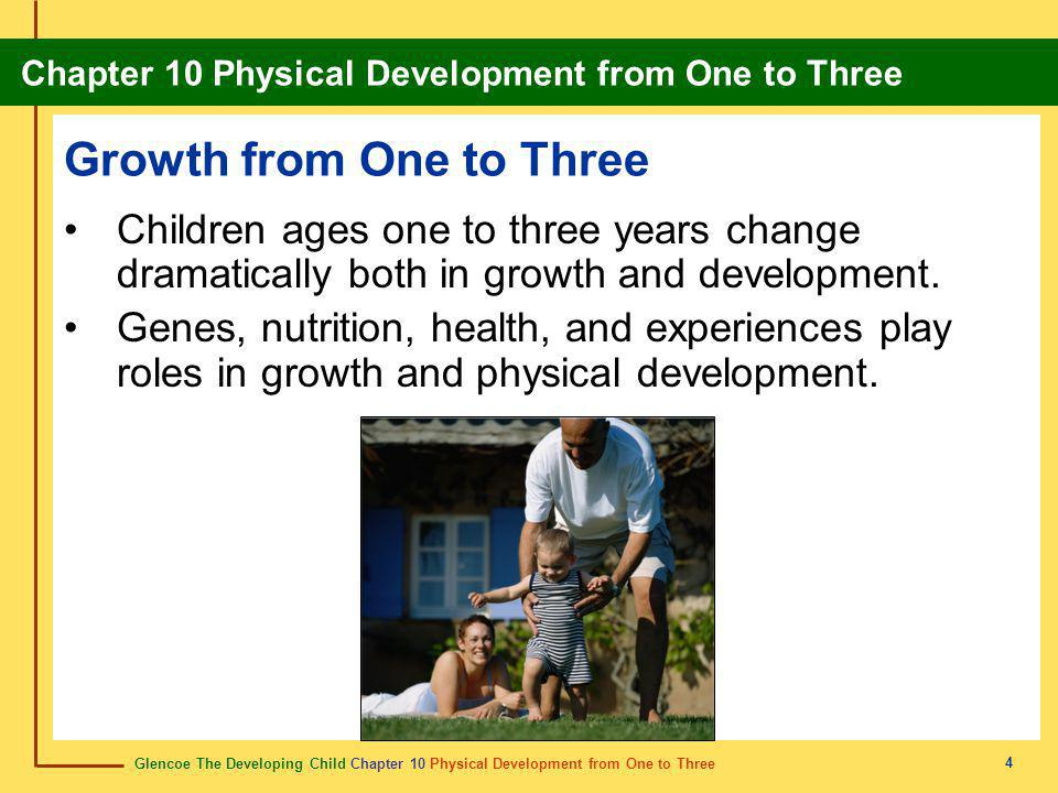 Growth from One to Three