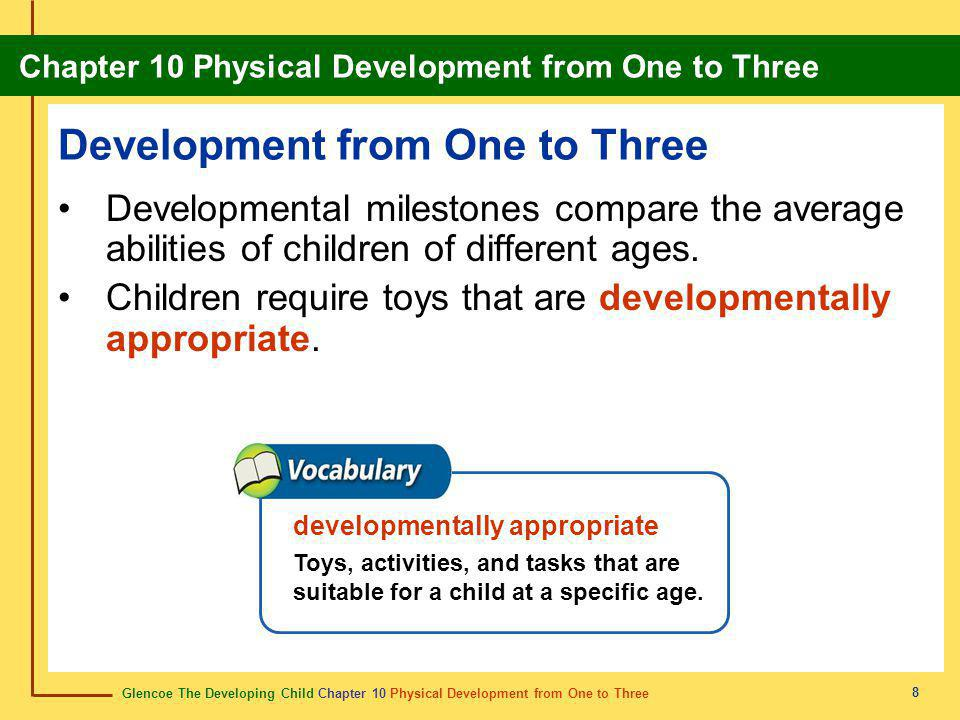 Development from One to Three