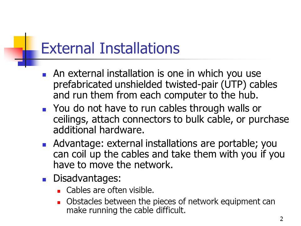 External Installations