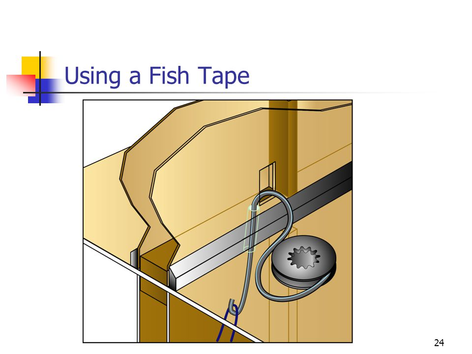 Using a Fish Tape