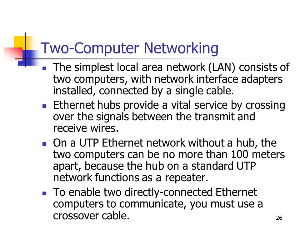 Two-Computer Networking