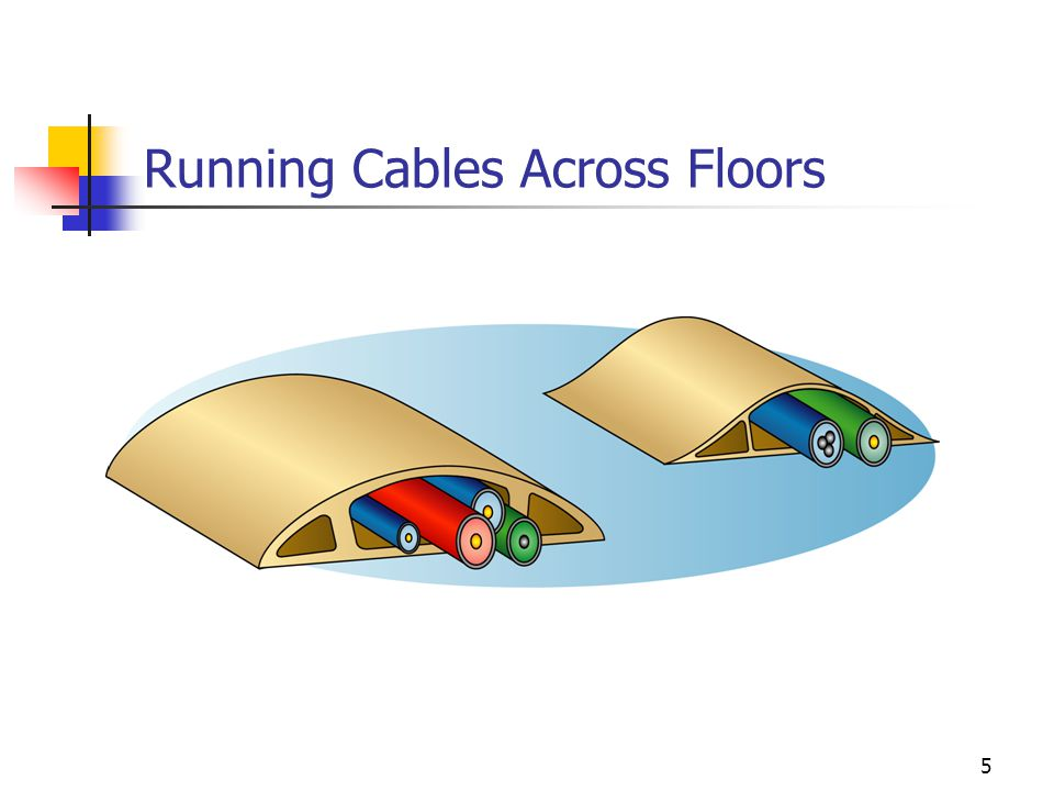 Running Cables Across Floors