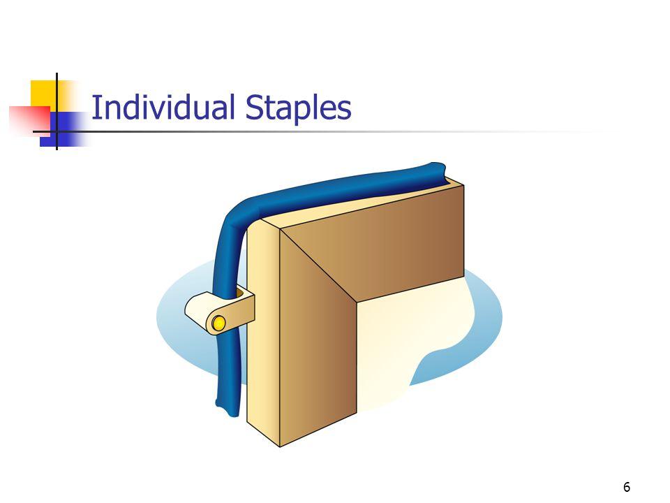 Individual Staples
