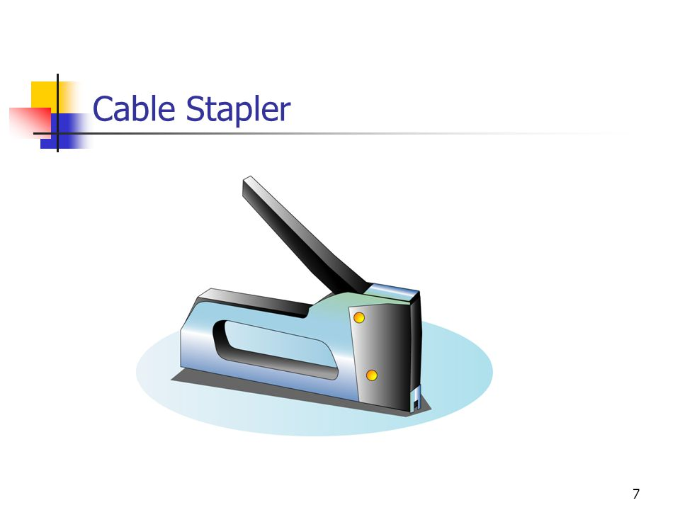 Cable Stapler