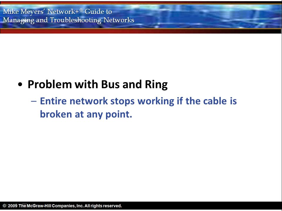 Problem with Bus and Ring