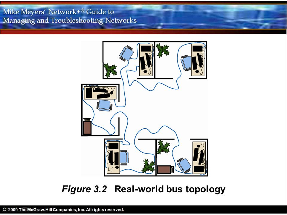 Figure 3.2 Real-world bus topology