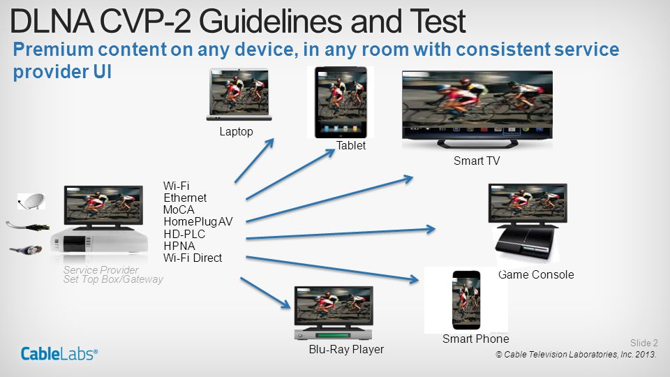 DLNA CVP-2 Guidelines and Test