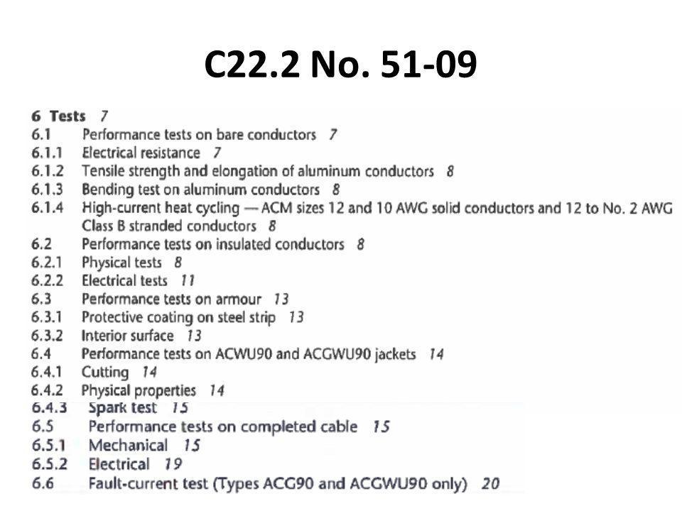 C22.2 No. 51-09