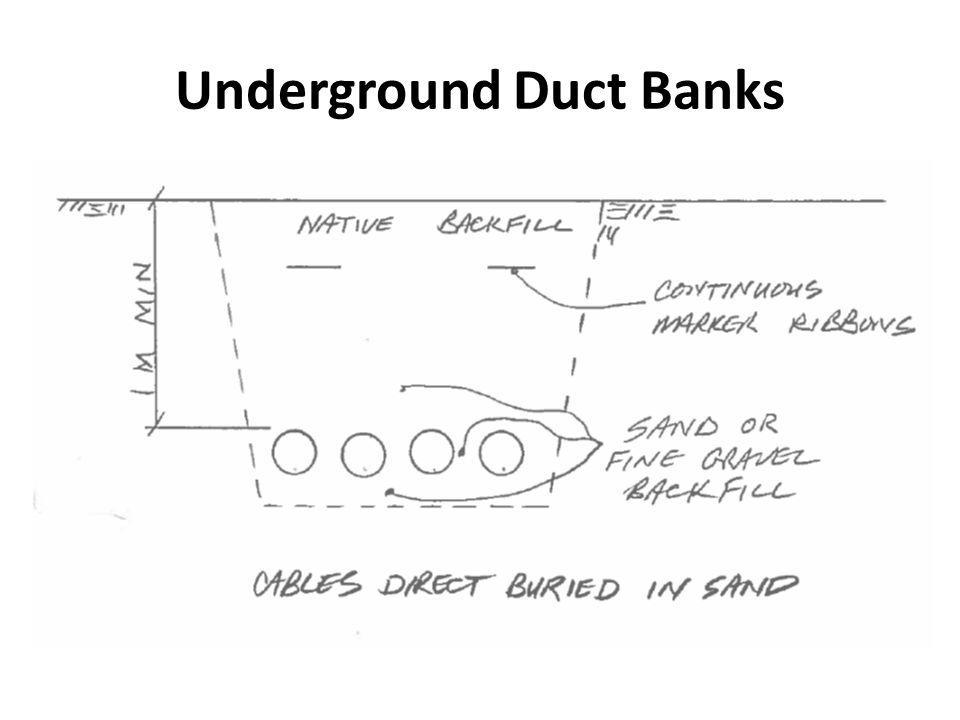 Underground Duct Banks