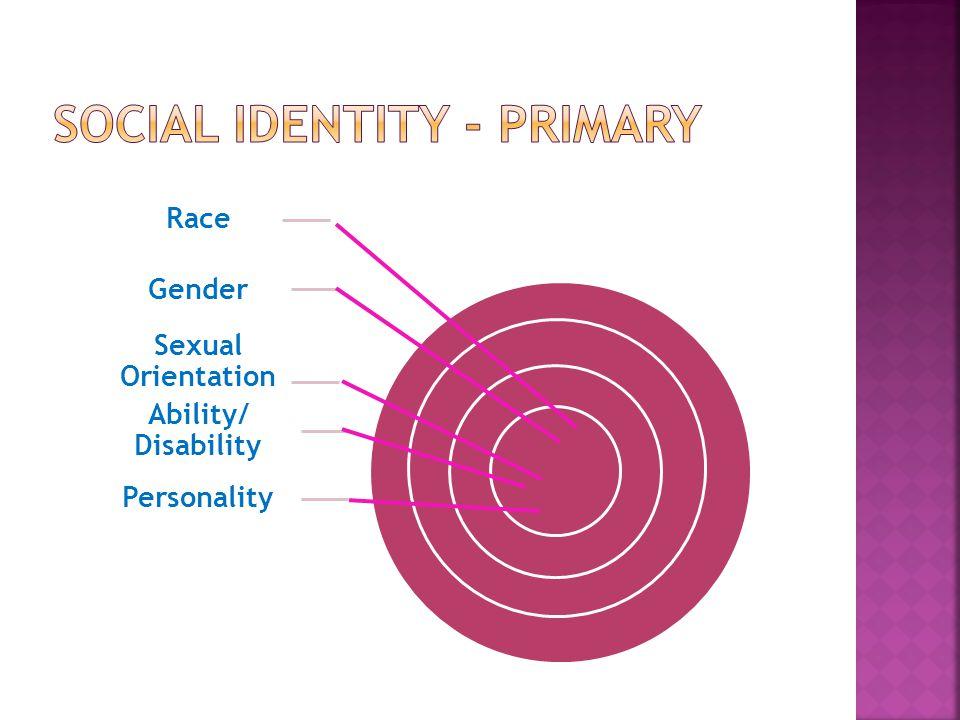 Social Identity - Primary