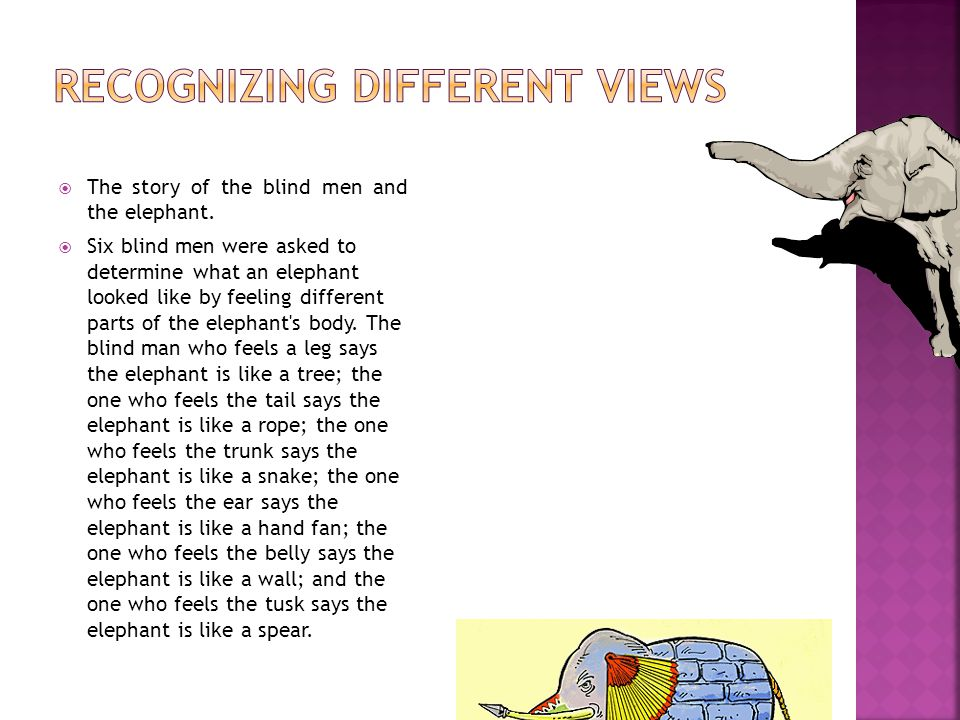 Recognizing Different Views