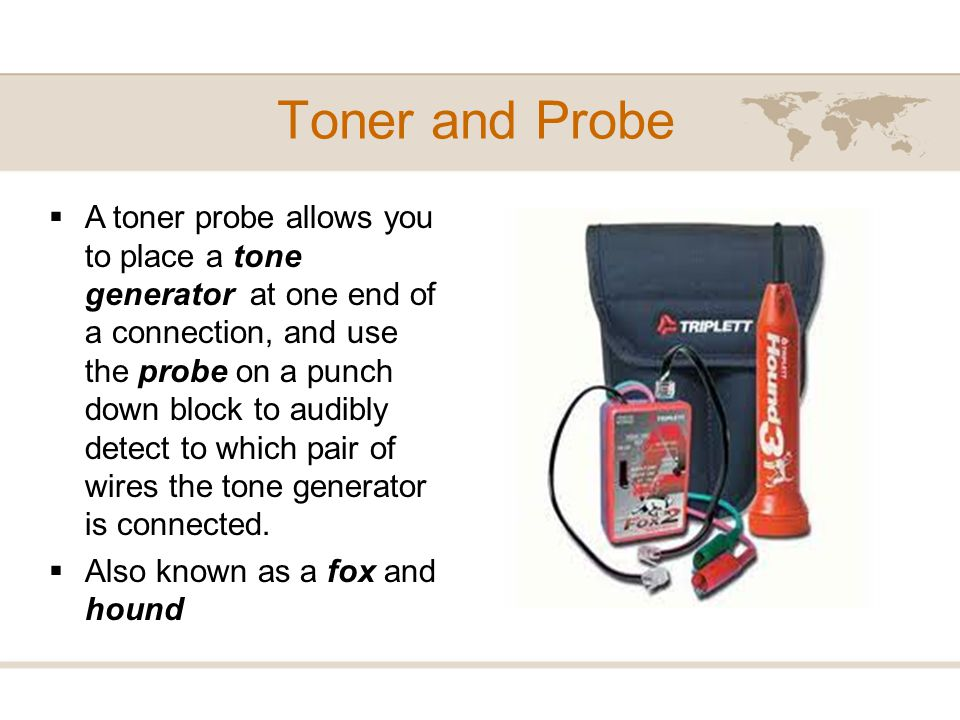 Toner and Probe