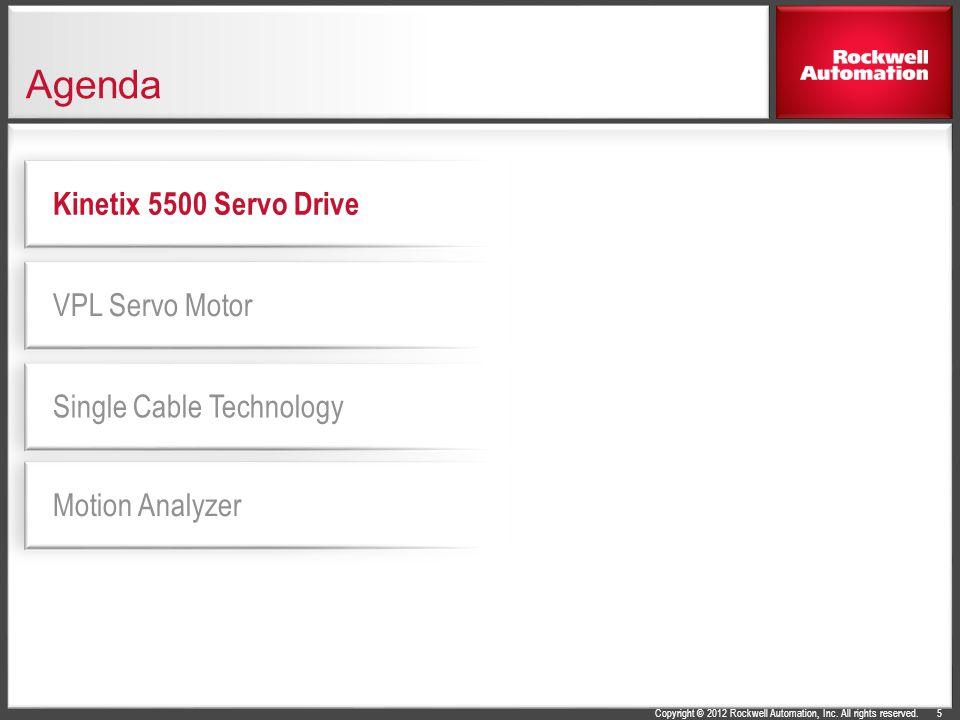 Agenda Kinetix 5500 Servo Drive VPL Servo Motor