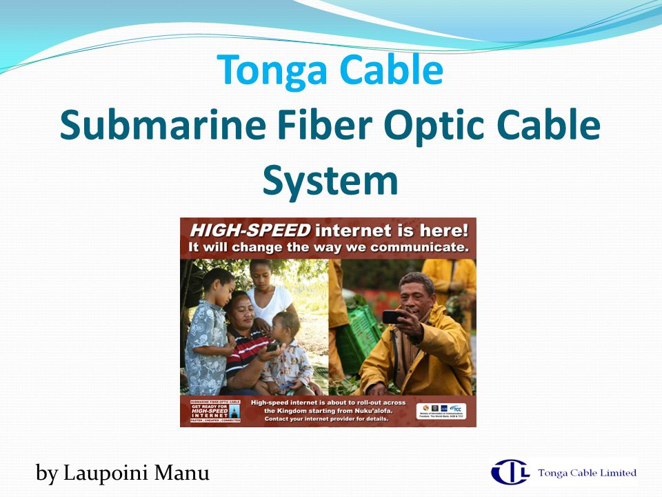 Tonga Cable Submarine Fiber Optic Cable System