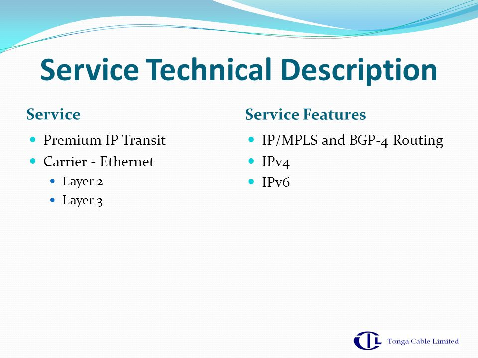 Service Technical Description