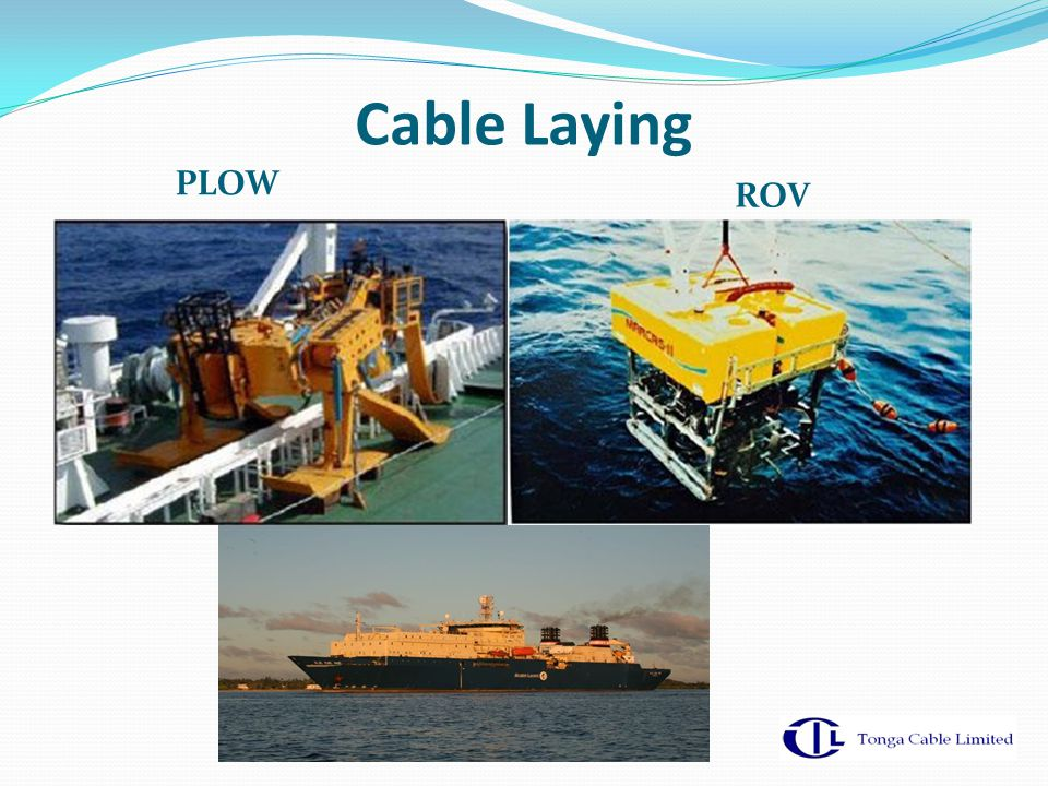 Cable Laying PLOW ROV