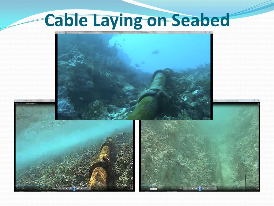 Cable Laying on Seabed