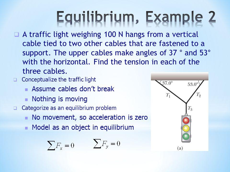 Equilibrium, Example 2