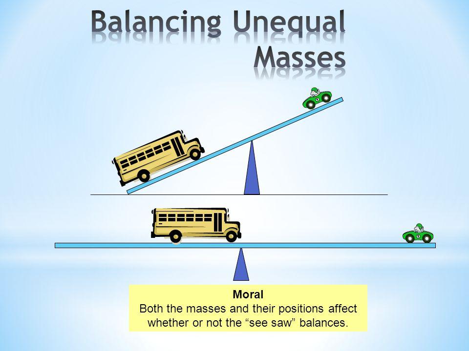 Balancing Unequal Masses