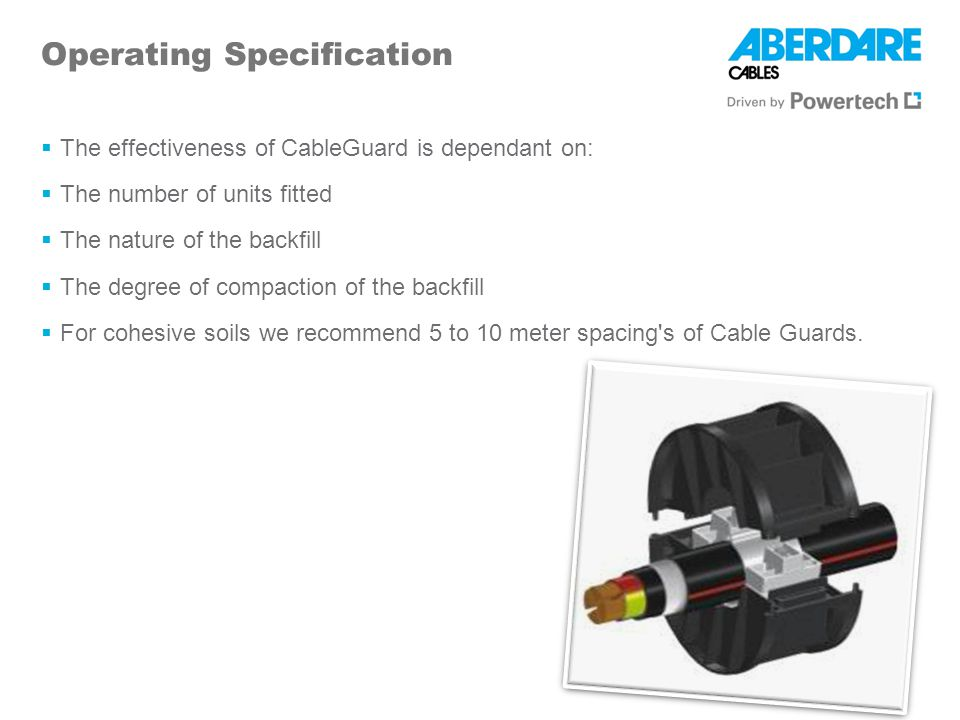 Operating Specification