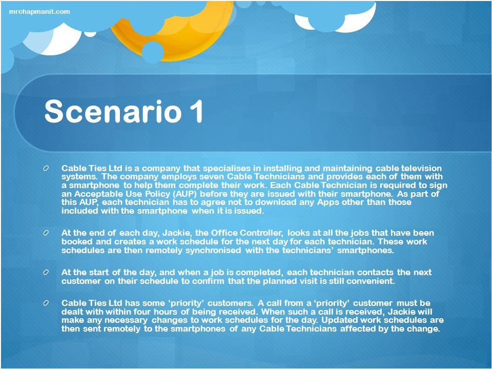 mrchapmanit.com Scenario 1.