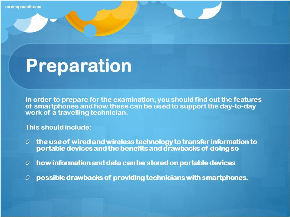 mrchapmanit.com Preparation.
