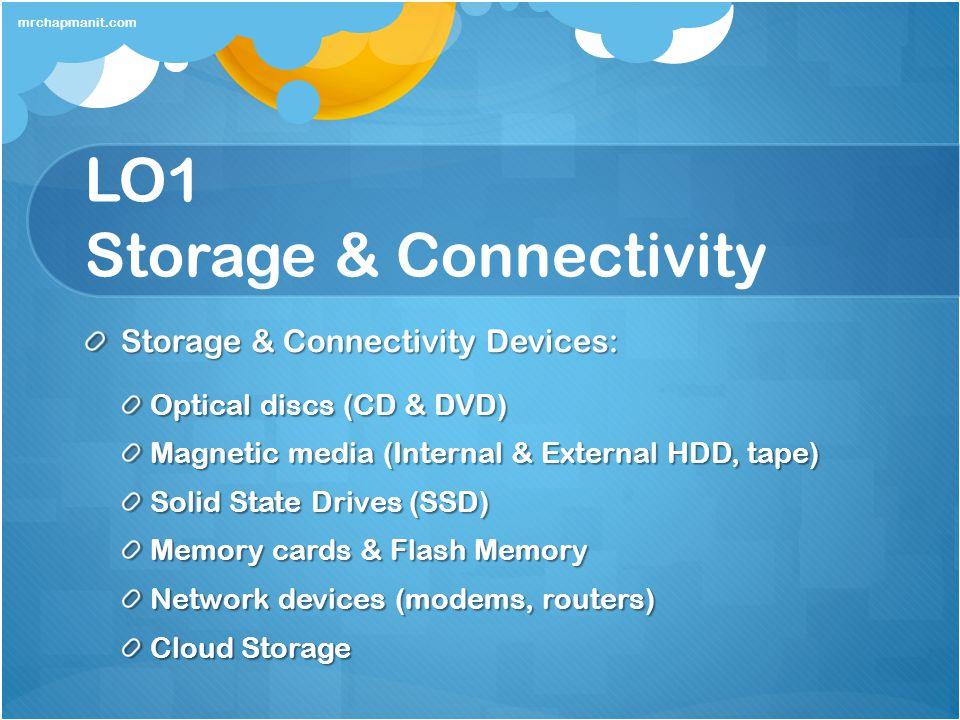 LO1 Storage & Connectivity